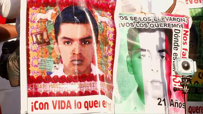 Mexico's missing students: marking 31 months since they vanished without trace