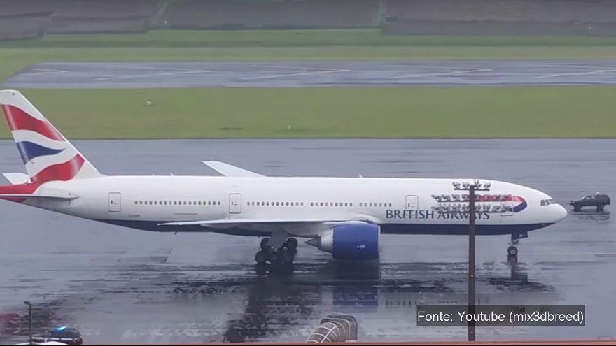 Discussão a bordo obriga avião britânico a aterrar nos Açores