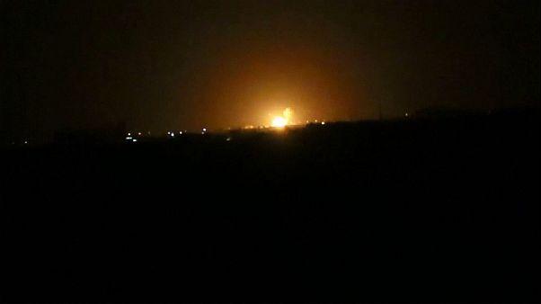 Αεροπορική επιδρομή στη Δαμασκό - Το χτύπημα αποδίδεται στο Ισραήλ