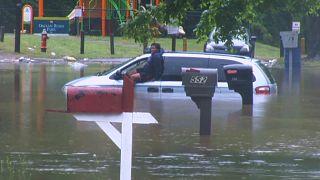 США: наводнения в Северной Каролине
