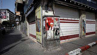 إضراب في الضفة والقطاع تضامنا مع الأسرى الفلسطينيين المضربين عن الطعام