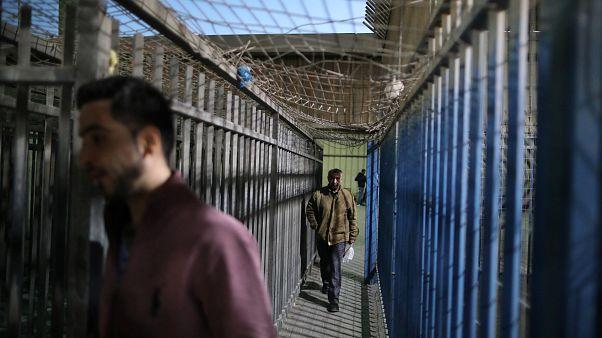 فلسطینی ها در همبستگی با زندانیان اعتصاب کردند