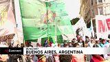 مزارعون أرجنتينيون يتظاهرون للمرة الثانية خلال أسبوع في بوينس آيرس