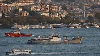 İstanbul açıklarında gemi kazası: Rus askeri gemisi battı