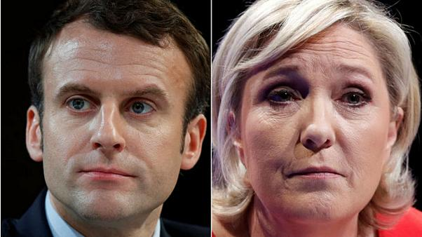 What do new campaign posters reveal about Macron and Le Pen?