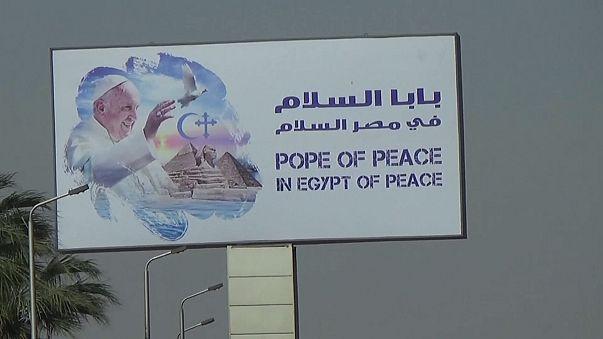 Papa viaja para o Egito sexta-feira