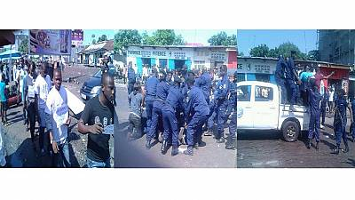 DRC's Lucha activists protest against filth in Kinshasa; dozens arrested