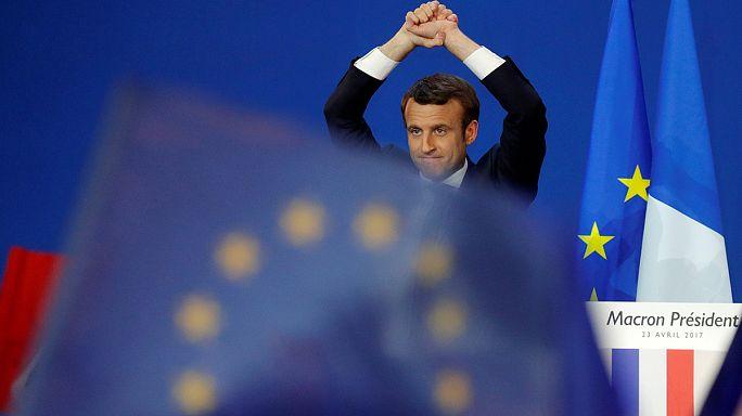 L'UE respire après le 1er tour de l'élection présidentielle en France