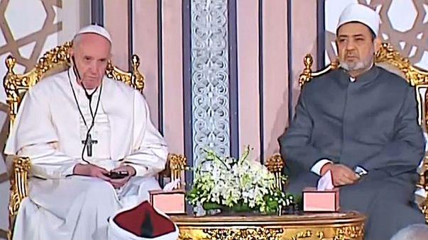 """البابا فرنسيس في زيارة """"وِحدة وأخوة"""" في مصر"""