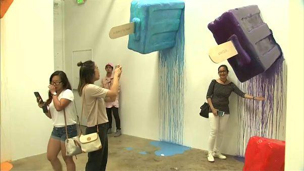 Museu do gelado em Los Angeles