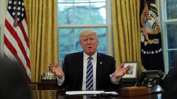Les 100 premiers jours de Trump vus depuis Washington