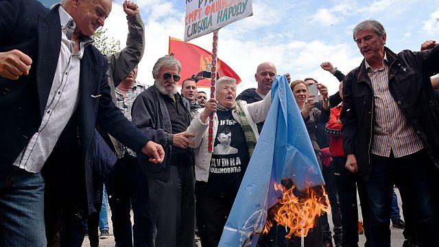 Parlament Montenegros beschließt trotz Protesten Nato-Beitritt
