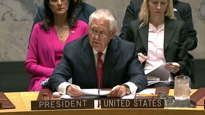 """مجلس الأمن: واشنطن تدعو أمم العالم """"جميعا"""" إلى تصعيد الضغط على بيونغ يونغ"""