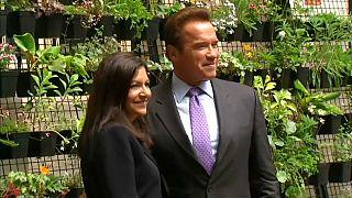 آرنولد شوارتزنگر با شهردار پاریس پیمان همکاری امضا کرد