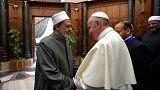 Papa Francis Kahire'de IŞİD'e karşı ortak mücadele mesajı verdi