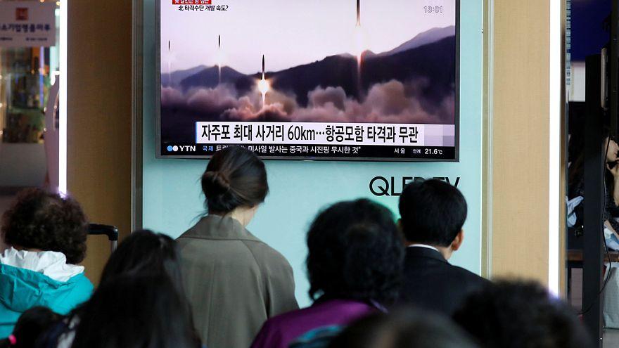 Nuevo desafío de Corea del Norte con el lanzamiento fallido de un misil balístico