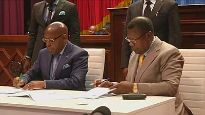 Congo's ruling majority and opposition sign deal amid concerns