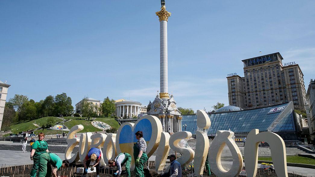Ucraina, a Kiev tutto pronto per l'Eurovision Song Contest
