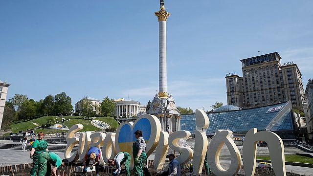 Az utolsó simítások zajlanak az Eurovíziós Dalfesztivál előtt Kijevben