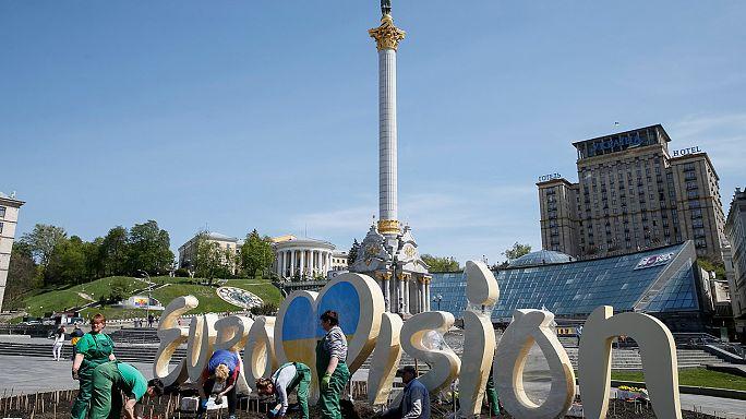 Eurovision: derniers préparatifs à Kiev