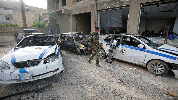 انفجار انتحاری در پایتخت عراق، چهار پلیس کشته شدند