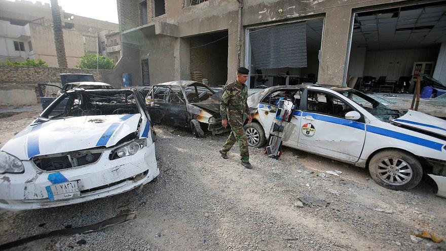 Autóba rejtett pokolgép robbant Bagdadban
