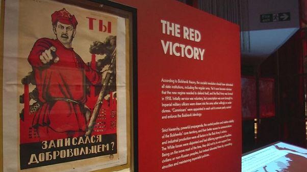A Revolução Russa em mostra na Biblioteca de Londres
