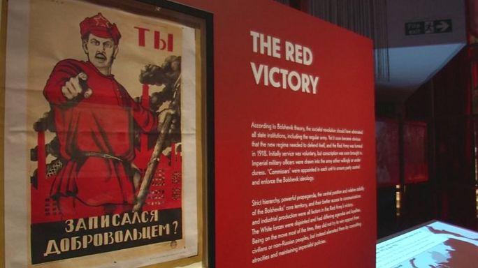 Rusya'nın devrim tarihi British Müzesi'nde