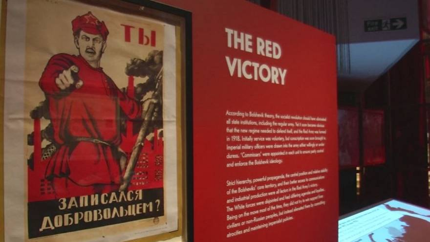 Paper trail of 1917 Russian Revolution on display in London
