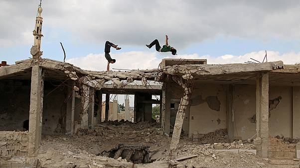Watch: Syrian youth find freedom in Parkour