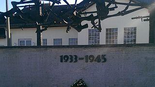 72º aniversario de la liberación del campo de concentración de Dachau