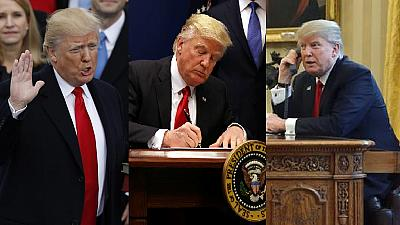 Trump's 100 days in office: The highs and lows for Africa