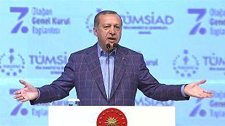 اردوغان يدعو الولايات المتحدة إلى توحيد القوى لجعل الرقة مقبرة لداعش