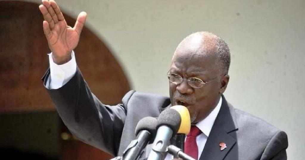 Image result for Images of Magufuli Speech