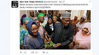 Nigerians slam New York Times for linking Buhari to Ghana MPs visa fraud