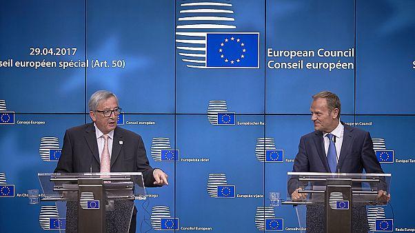 Brexit, approvate a tempo di record dai 27 le linee guida dell'Ue sui negoziati