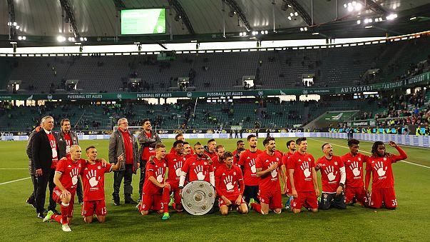 Bayern Münih üst üste beşinci kez şampiyon