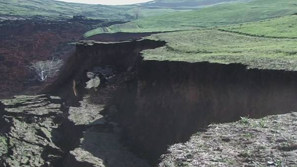 Landslide buries Kyrgyzstan village, 24 feared dead