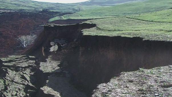 Kirguistán: 24 personas mueren en un corrimiento de tierras