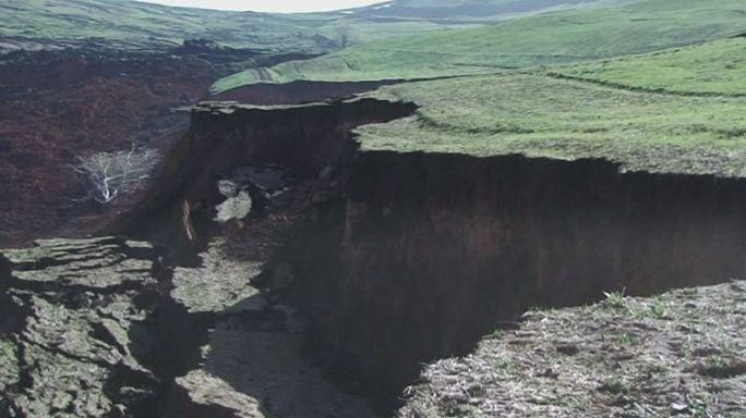 Kırgızistan'da heyelan felaketi can aldı