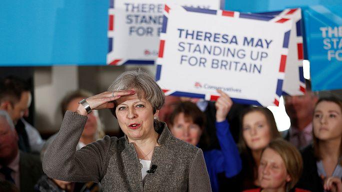 Unterhauswahl-Umfrage: Vorsprung der Konservativen halbiert