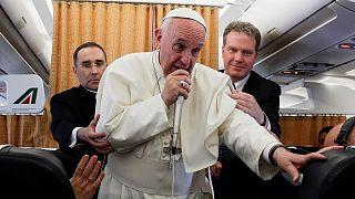 پاپ خواستار حل دیپلماتیک بحران کره شمالی شد