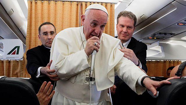 """Papa Francis: """"Üçüncü bir ülke ABD-Kuzey Kore gerginliğini yatıştırmalı"""""""
