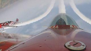 Watch: British Global Stars aerobatic team performs at Zhengzhou Airshow