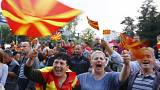 Protesta en Skopje para reclamar nuevas elecciones
