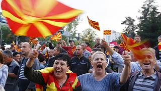 Protest in Skopje to demand new elections