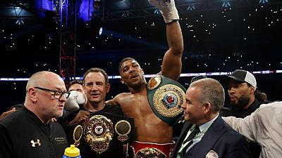 Joshua defeats Klitschko in epic heavyweight fight