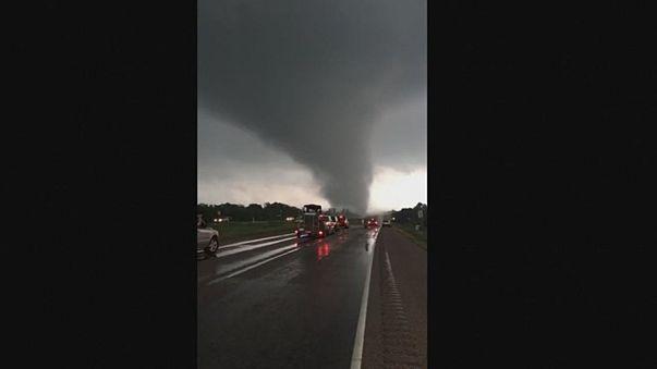 Торнадо в Техасе