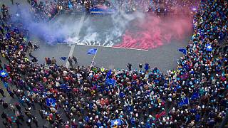 """Pulse of Europe"" holds anti-""Frexit"" rallies"