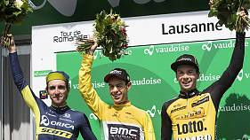 Cyclisme : l'Australien Porte vainqueur du Tour de Romandie